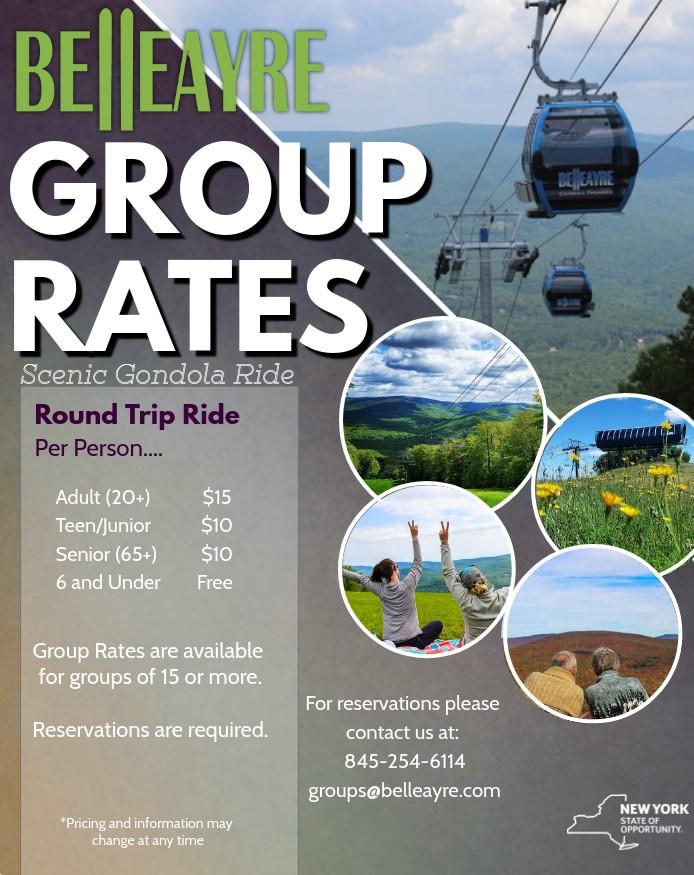 Group Rates for Scenic Gondola Rides