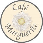 The logo for Cage Marguerite