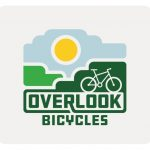 The logo for Overlook Mountain Bicycles