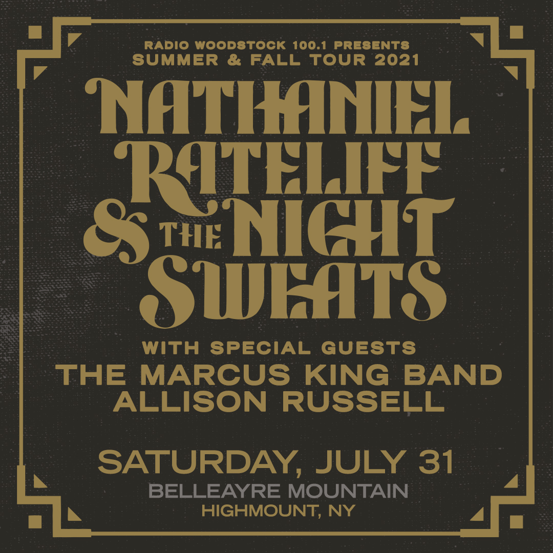 Nathaniel Ratecliff & The Night Sweats with Special Guest, The Marcus King Band