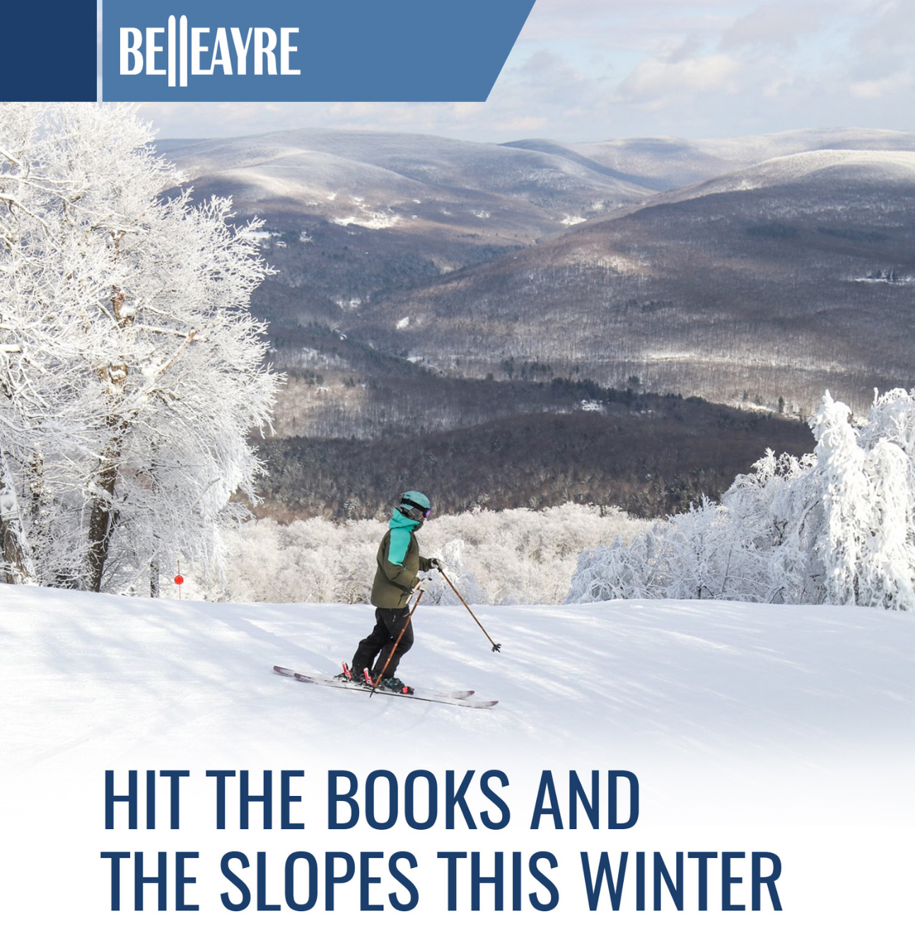 Hit the books and the slopes this winter