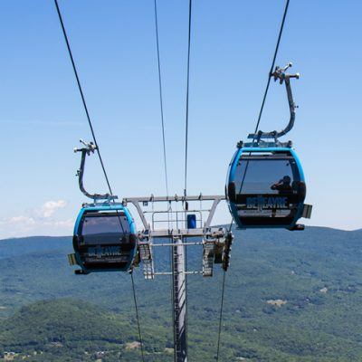 Summer Gondola Rides on the Catskill Thunder Gondola
