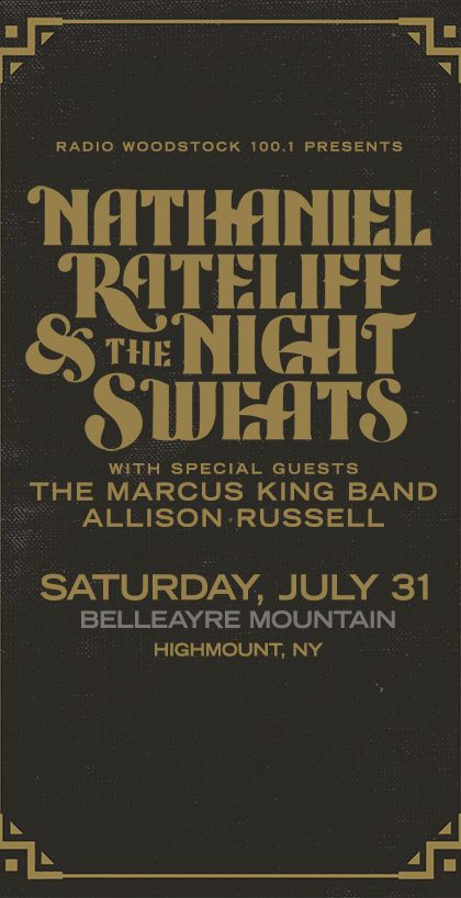 Nathaniel Rateliff Concert - July 31